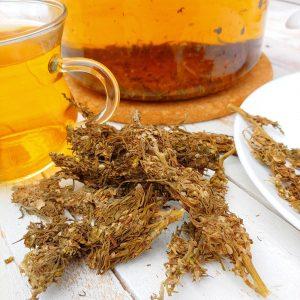 hemp cannabis died flower CBD TEA 100g