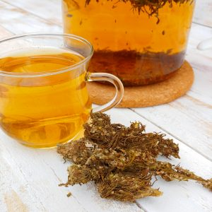 hemp cannabis tea